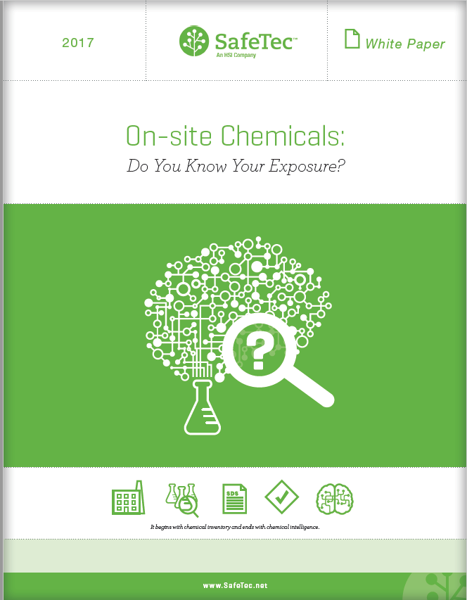 On-site Chemicals Exposure White Paper