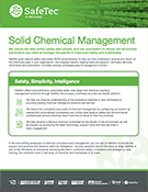 Safetec Solid Chemical Management