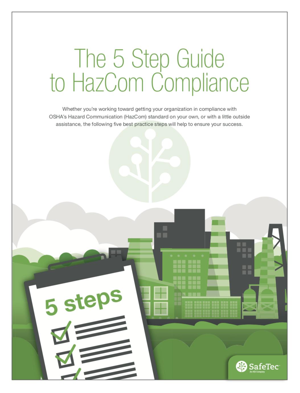 The 5 Step Guide to HazCom Compliance eBook