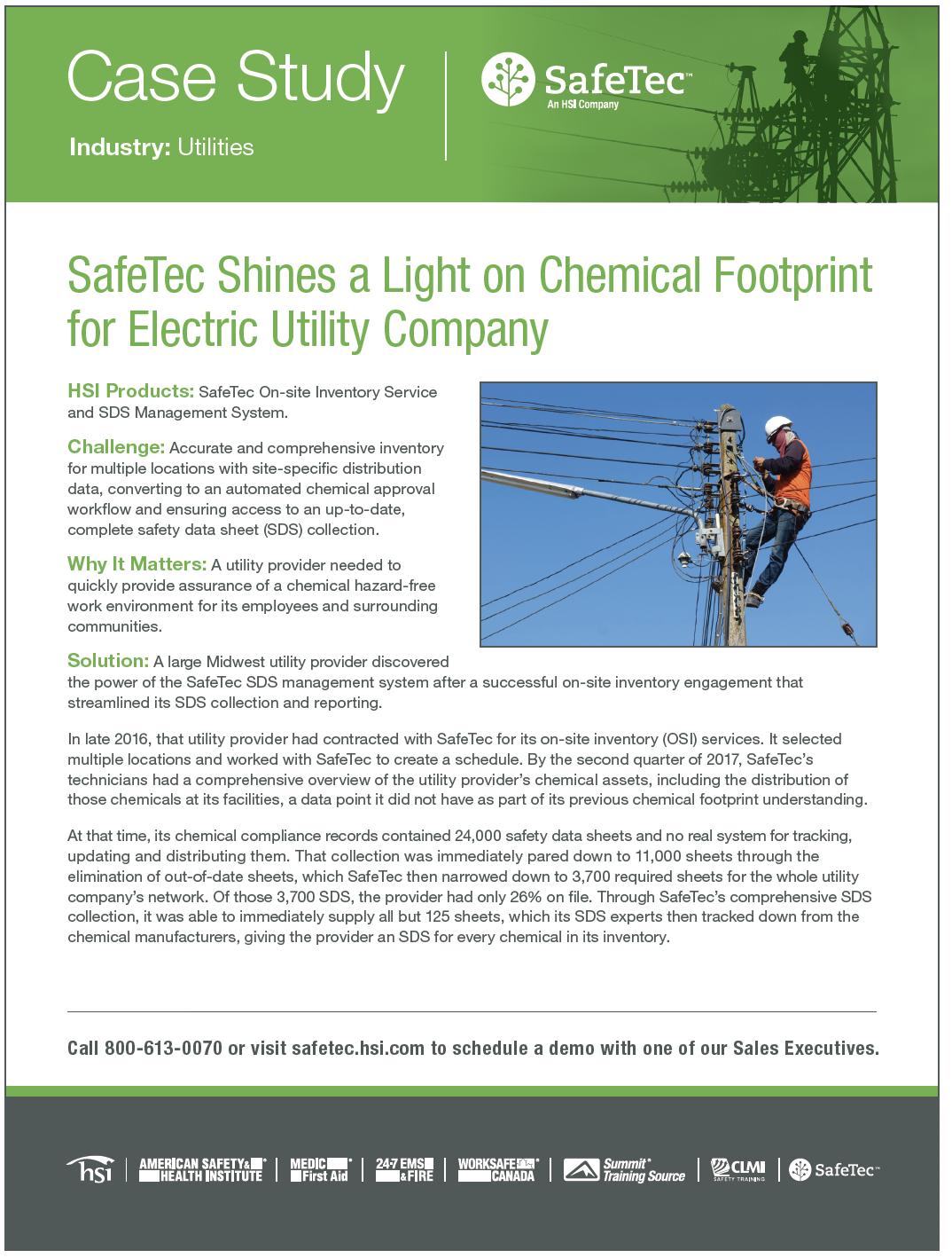 Regional Utilities Provider SDS Management Case Study
